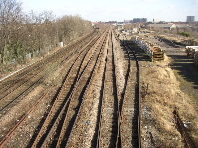 Tracks into Doncaster
