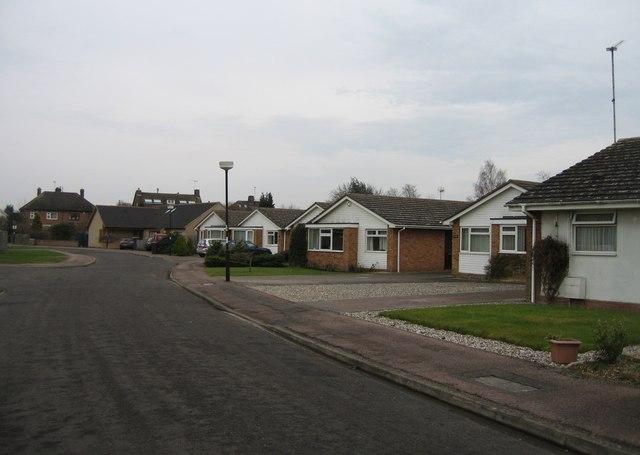 Bungalows in Cranleigh Close