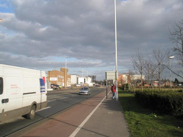 Main road to Cosham