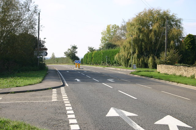 North Weston A418 junction