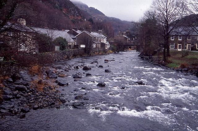 River Glaslyn at Beddgelert