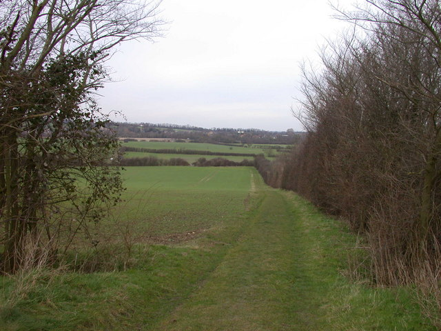 Permissive footpath up to viewpoint