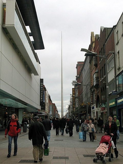 The Spire, from Mary Street