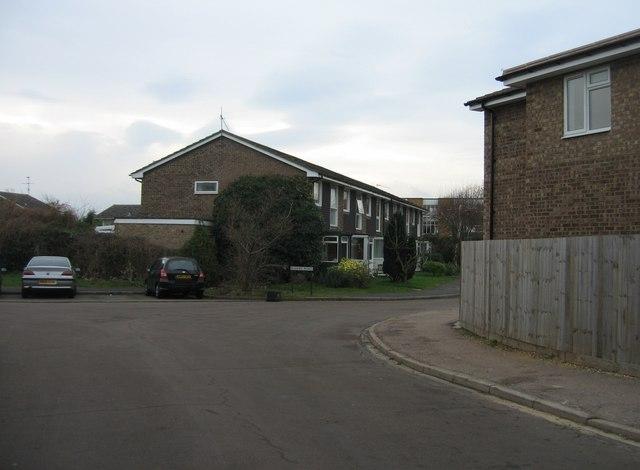 Far end of Bishops Road