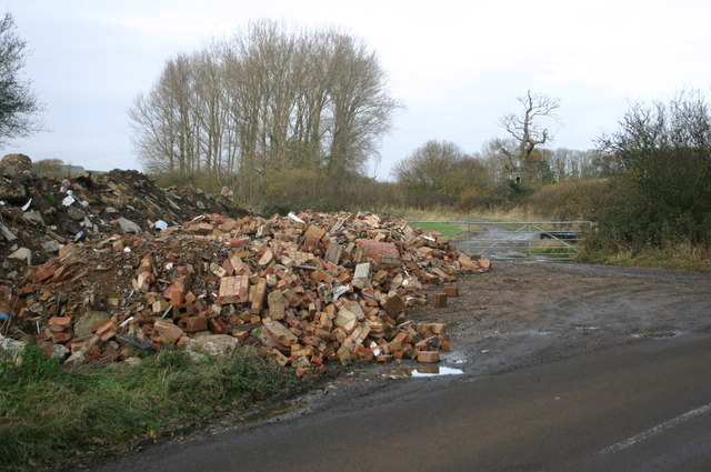 Fly tipping on a big scale