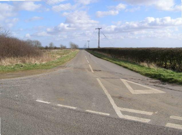 Road Junction Crabtree Road/Woolsthorpe Road