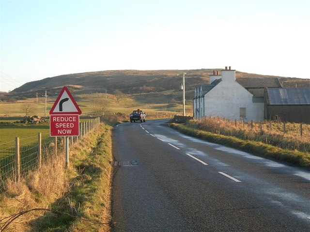 The A846 At Emeraconart