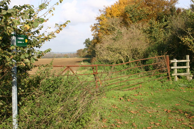 Footpath to Ickford