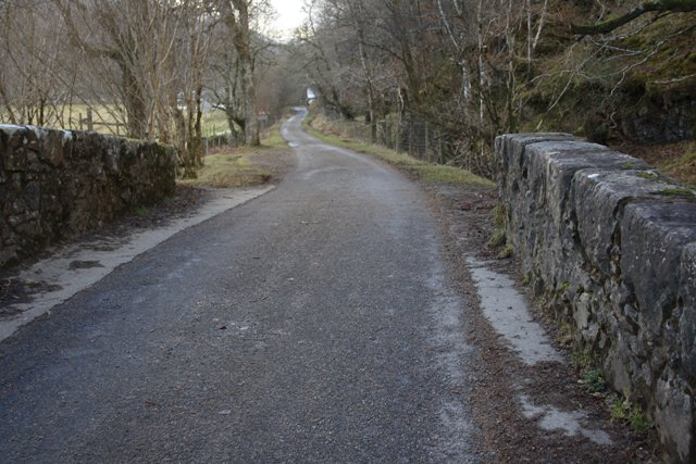 Road to Loch Arkaig