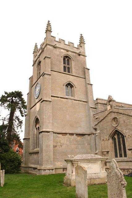 St.John the Baptist's church tower