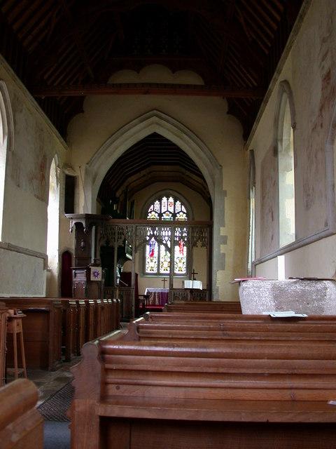 St Peter's, Barton - interior