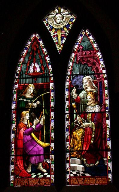 Chancel window, St Peter's Church