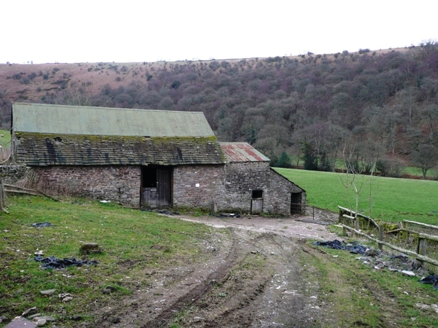 Farm building in the Grwyne Fawr