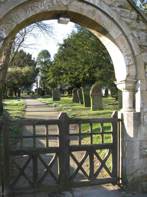 Through the Lych Gate