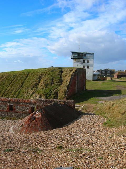 Old Fort and Coastguard Tower