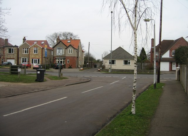 Bishops Road meets the Shelford Road