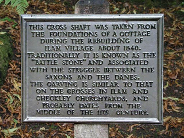 Battle Stone plaque