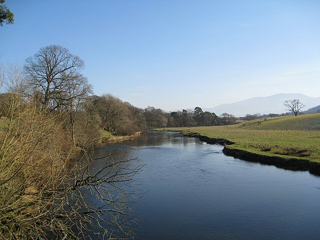 The River Derwent from Isel Bridge