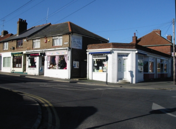 A few shops on Mill Hill