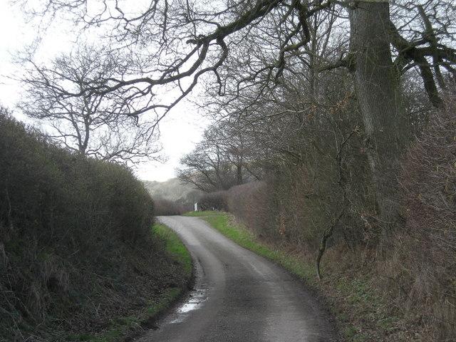 Lane to Purlogue Bridge