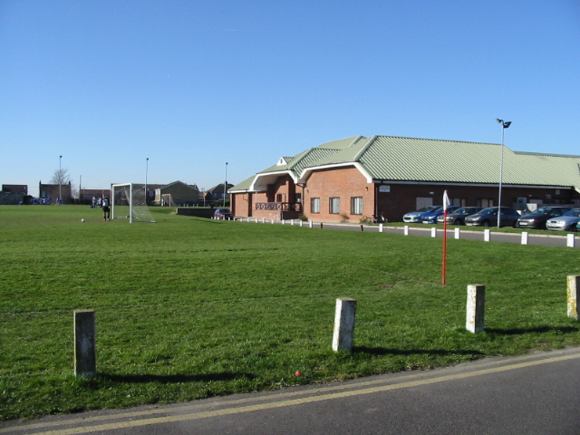 Clubhouse for sportsground off Cavell Square