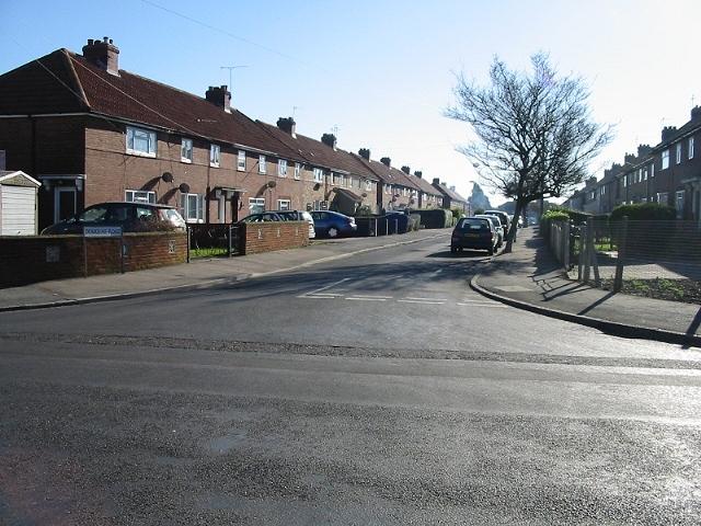 Douglas Road off Cavell Square