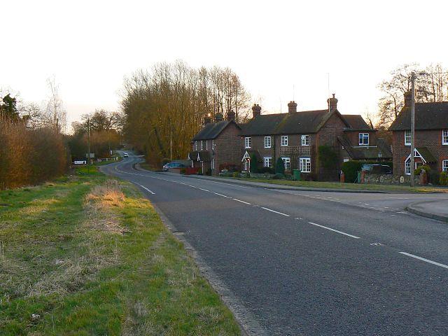 Houses, Westfork, near Burgates