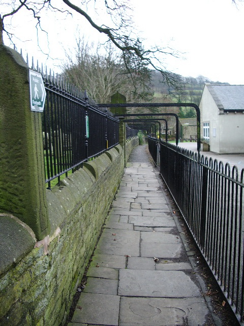 Footpath off The Square