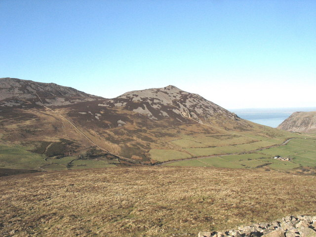 Tre'r Ceiri from the summit of Mynydd Carnguwch