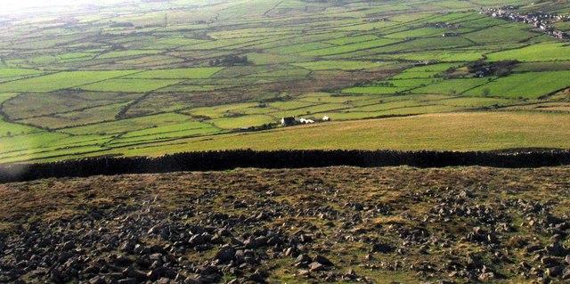 The western slope of Mynydd Carguwch