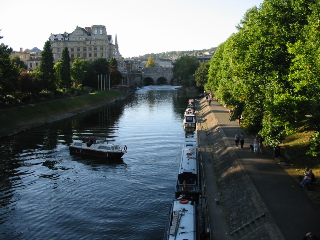 View along the River Avon