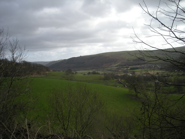 Teme Valley from Graig