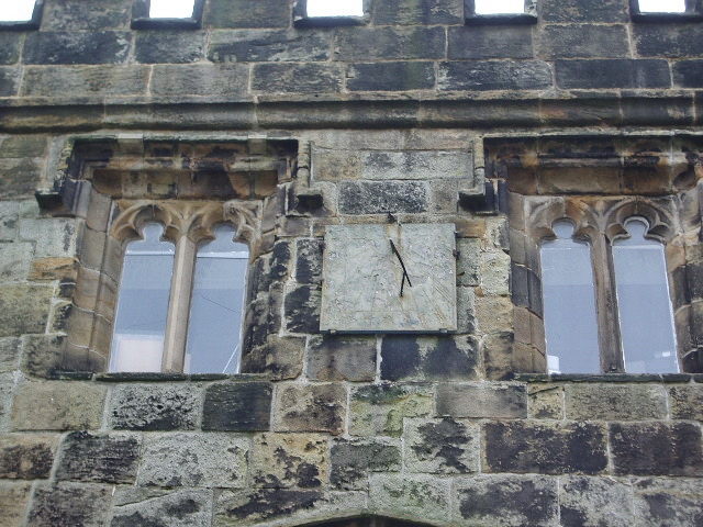 Whalley Abbey, Sundial