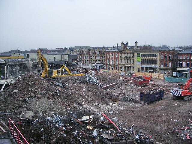 The demise of Lords Square, Blackburn