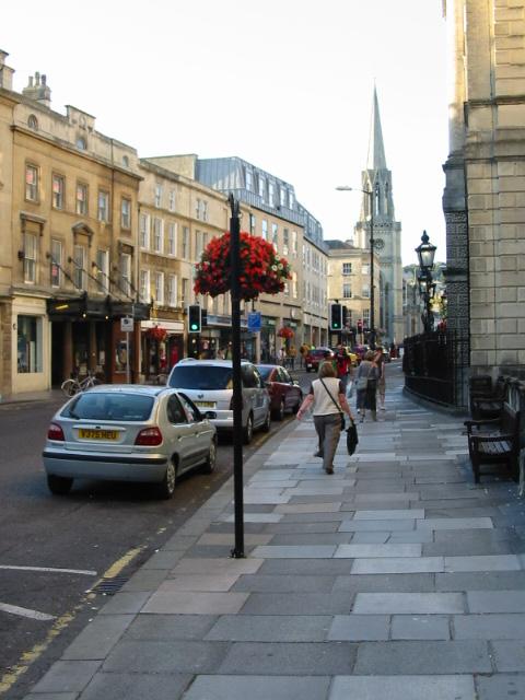View along Green Street, Bath