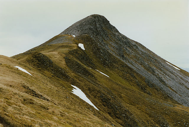 The east ridge of Stob Coire a' Chairn