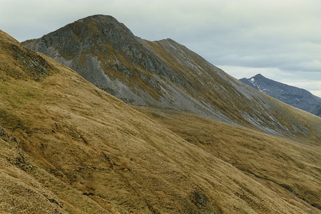 Eastern slopes of Stob Coire a' Chairn