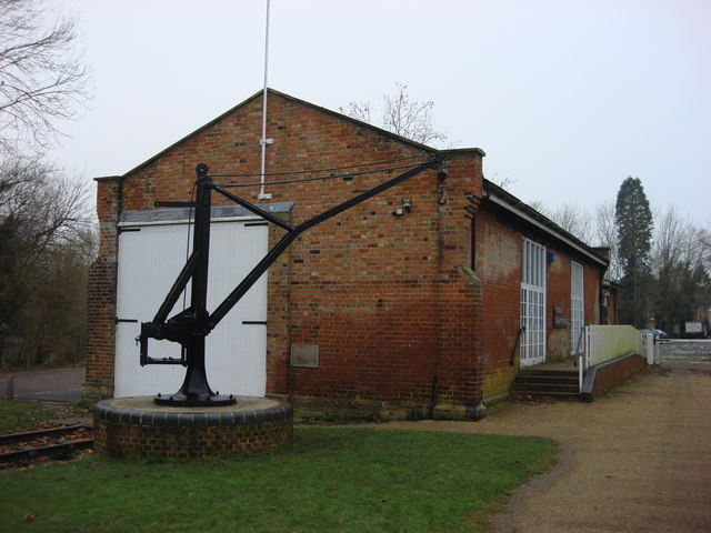 Former railway goods shed now Clare Park Centre