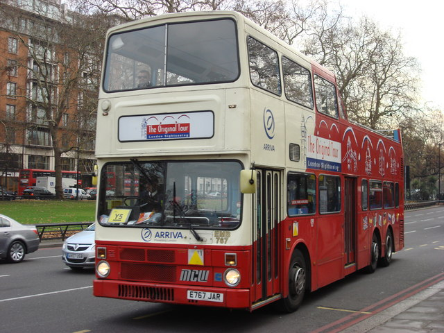 """The Original Tour"" open top bus"