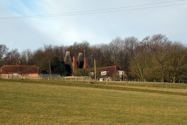 Oast House at Jacobs Farm, Brede Lane, Sedlescombe