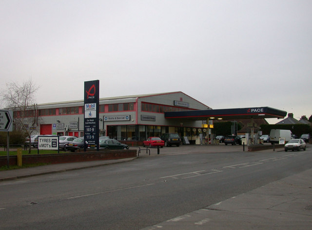 Pace service station, Wimpole Road