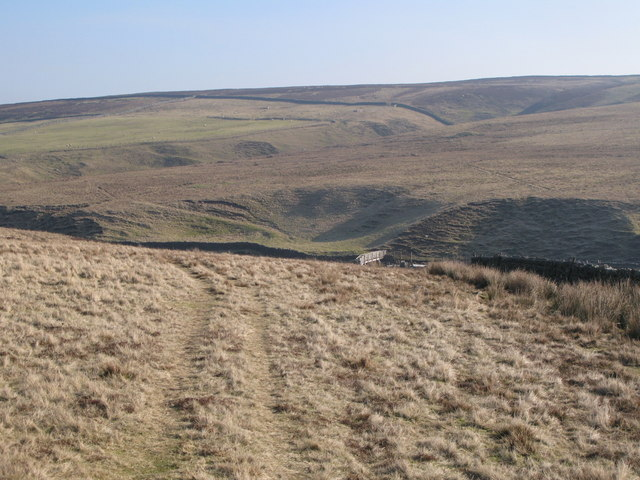The upper Beldon Valley