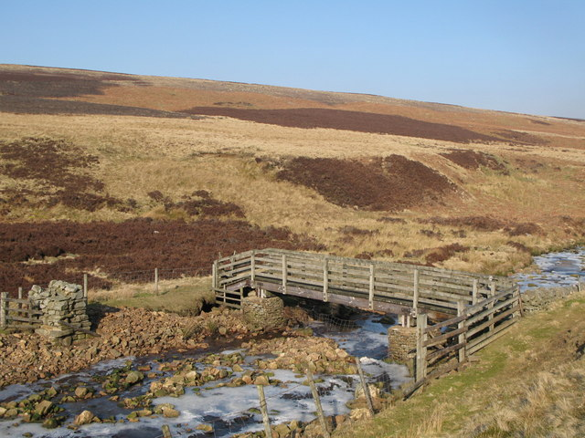 Footbridge over Quickcleugh Burn (2)