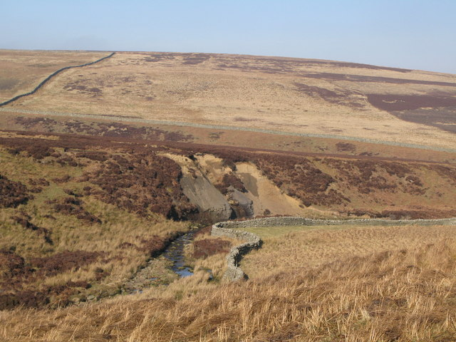 The valley of Quickcleugh Burn (3)