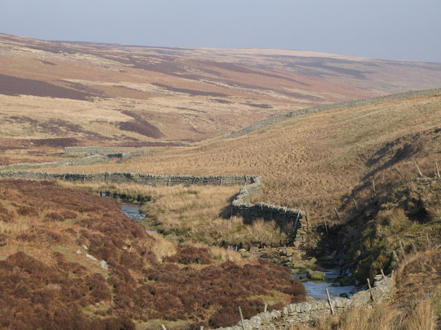 The valley of Quickcleugh Burn (4)