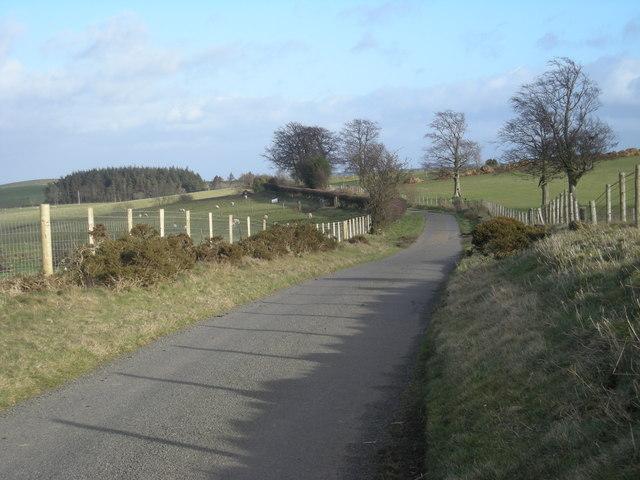 Lane to Spoad Hill