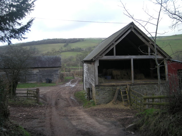 Farm buildings at Cow Hall