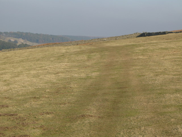 The track to Heatheryburn