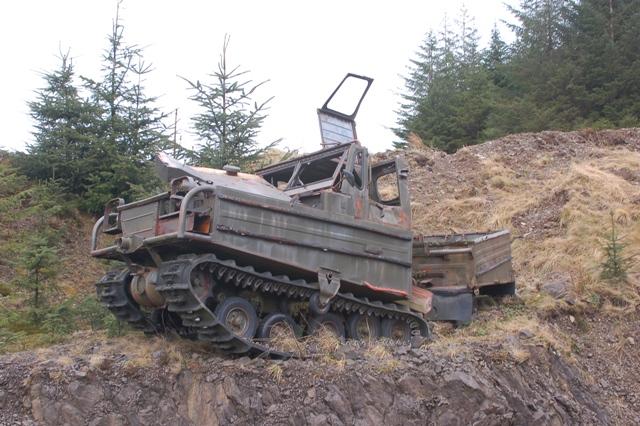 Abandoned Volvo BM Bv.202
