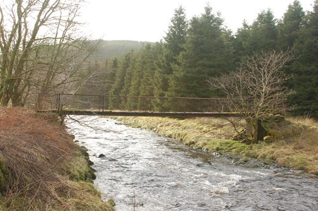 Footbridge At Moor Farm